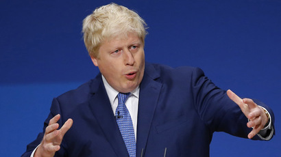 London Mayor Boris Johnson (Reuters/Darren Staples)