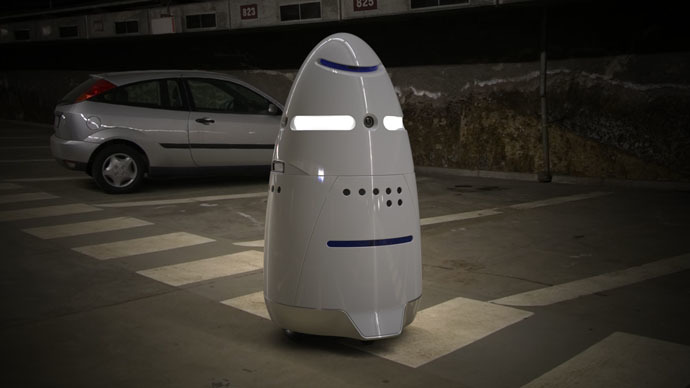 5 Foot Tall Robocops Start Patrolling Silicon Valley