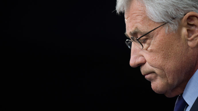 Chuck Hagel.(AFP Photo / Jim Watson)