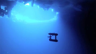 Still from YouTube video/AntarcticSurvey