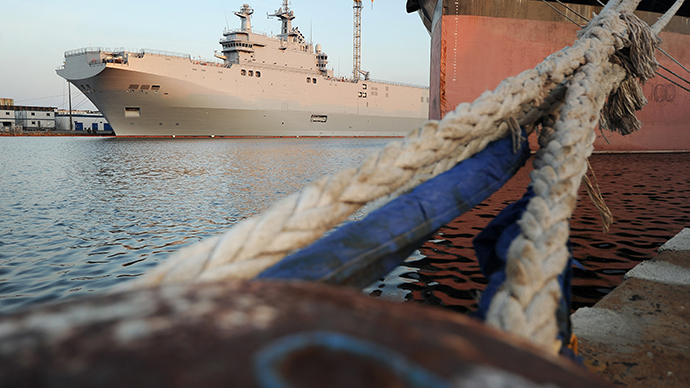France postpones Mistral delivery to Russia over Ukraine 'until further notice'