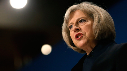 Britain's Home Secretary Theresa May (Reuters / Luke MacGregor)