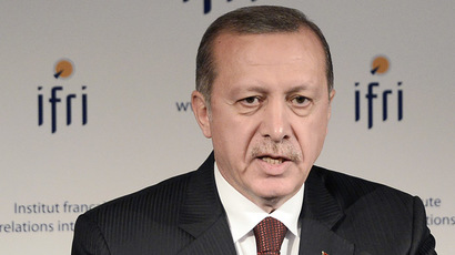 Turkish President Recep Tayyip Erdogan (AFP Photo/Stephane De Sakutin)