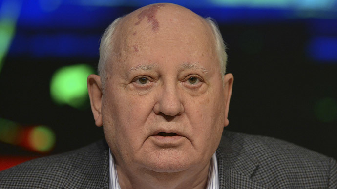Gorbachev: It's up to Europe to prevent new Cold War between US and Russia