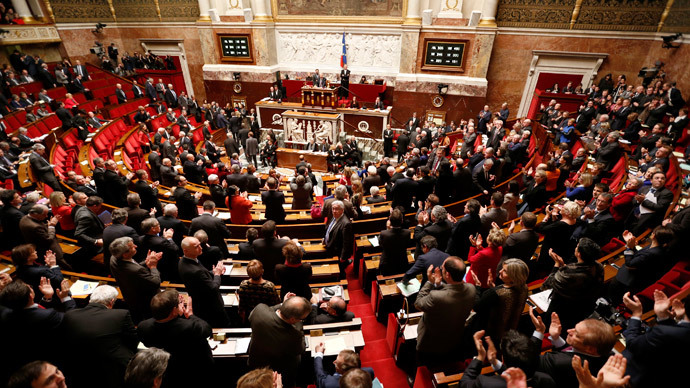 French parliament votes to recognize Palestinian state