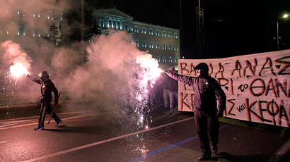 Jailed Greek youth protest icon allowed to attend uni, ends hunger strike