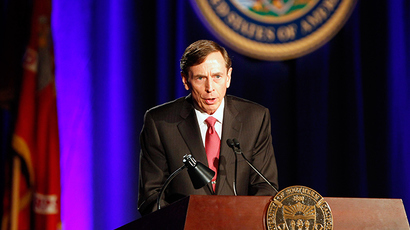 Former CIA director and retired general David H. Petraeus (Reuters / Alex Gallardo)