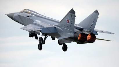 A MiG-31 fighter interceptor jet (RIA Novosti/Pavel Lisitsyn)