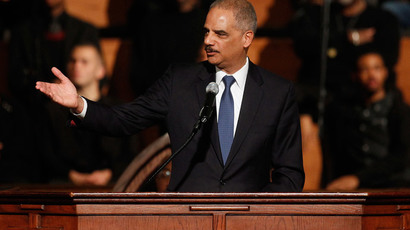U.S. Attorney General Eric Holder.(Reuters / Tami Chappell)