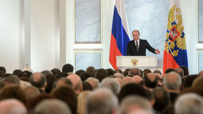 Putin: Talking to Russia from position of strength is meaningless