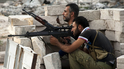 Free Syrian Army fighters (AFP Photo/James Lawler Duggan)
