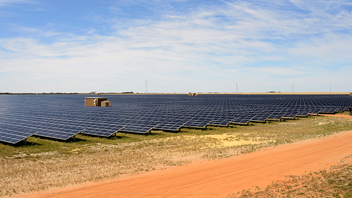 Australia develops world's most efficient solar panels