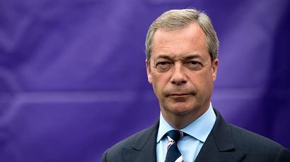 Nigel Farage, leader of the UK Independence Party (UKIP). (AFP Photo)