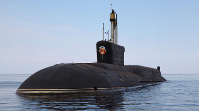 Borei-class SSBN Vladimir Monomakh. Photo by Central Design Bureau for Marine Engineering
