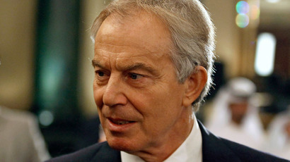 Tony Blair.(Reuters / Mohamed Abd El Ghany)