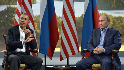 US President Barack Obama (L) and Russian President Vladimir Putin (R).(AFP Photo / Jewel Samad)