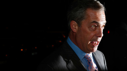 Nigel Farage, leader of the United Kingdom Independence Party.(Reuters / Suzanne Plunkett)
