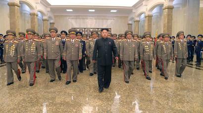 Kim Jong Un.(Reuters / KCNA)
