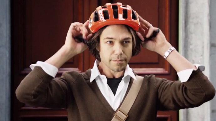 'World's first' smart bike helmet alerts drivers and ...