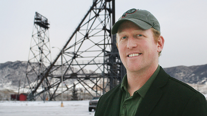 This undated photo obtained November 7, 2014, courtesy of The Montana Standard and photgrapher Walter Hinick, www.mtstandard.com, shows former US Navy SEAL Robert O'Neill in Butte, Montana (AFP Photo)