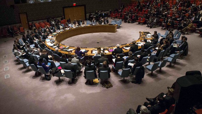 Palestinian statehood bid fails at UN Security Council as US, Australia vote against