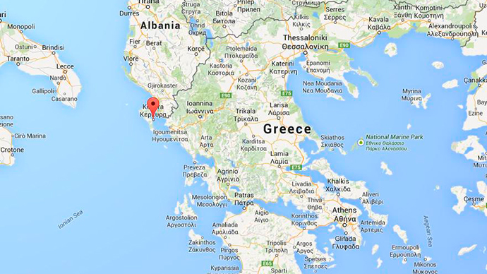 News Greece Google Map