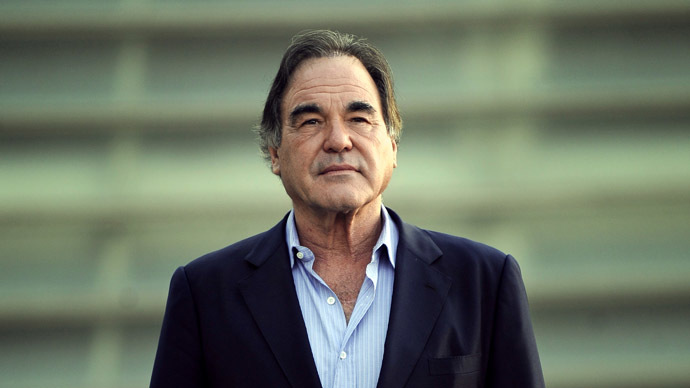 US film director Oliver Stone. (AFP Photo / Rafa Rivas)