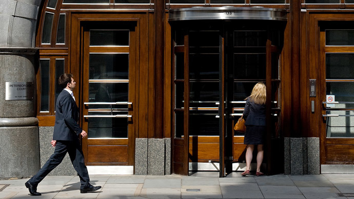 The London offices of Goldman Sachs (AFP Photo/Leon Neal)