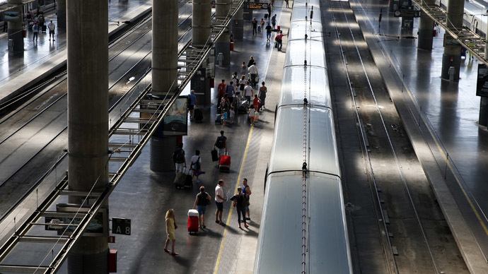 Atocha station in Madrid (Reuters/Juan Medina)
