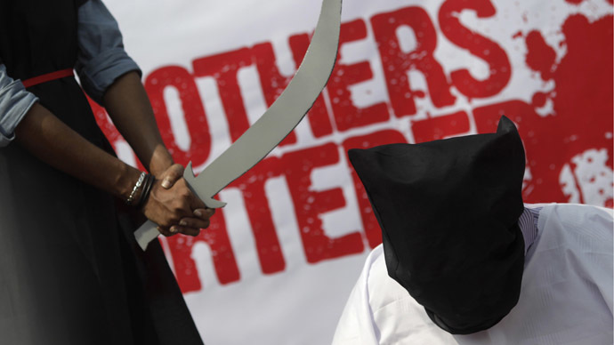 S. Arabia beheads over 80 people in 2014, highest level in five years