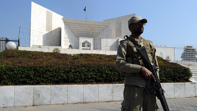 ​Pakistan amending constitution to set up anti-terror military courts