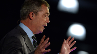 Farage sobers up? UKIP leader ditches booze for January
