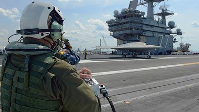 AFP Photo/US Navy