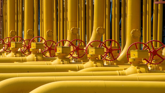 Russian gas exports to Ukraine dropped by 50% in 2014