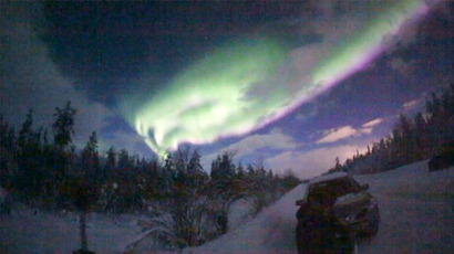 Northern Lights move south: Magnetic storm reveals aurora borealis in Central Russia