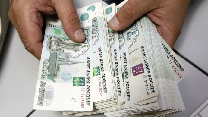 Ruble loses 5 percent as oil rout worsens