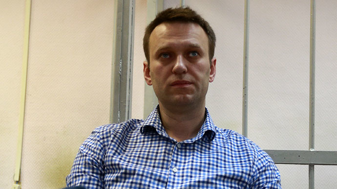 Opposition politician Alexei Navalny (RIA Novosti/Anton Denisov)
