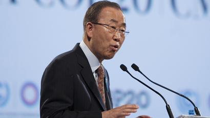 United Nations Secretary-General Ban Ki-moon (Reuters / Enrique Castro-Mendivil)