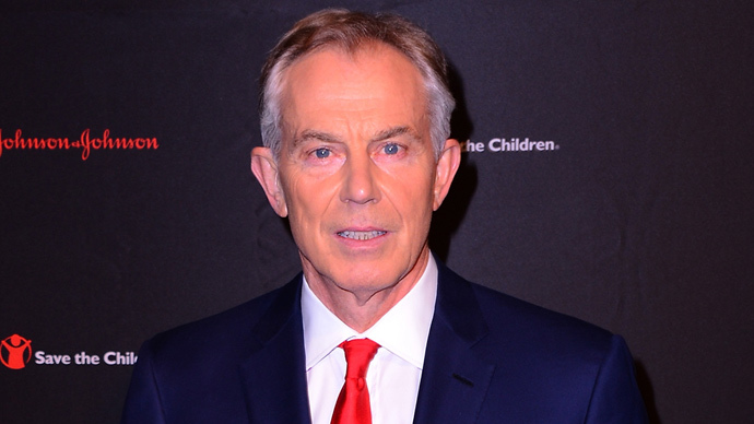 Former Labour Prime Minister of the United Kingdom, Tony Blair. (Stephen Lovekin / Getty Images for Save the Children / AFP)