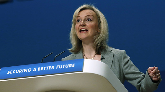 Elizabeth Truss, UK Environment Secretary. (Reuters/Luke MacGregor)