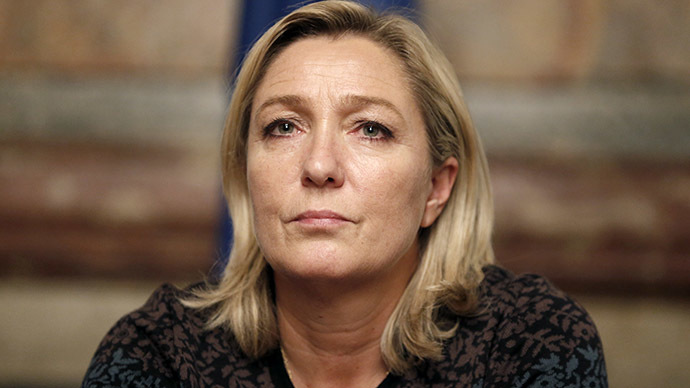 France's far-right National Front political party leader Marine Le Pen (Reuters/Charles Platiau)