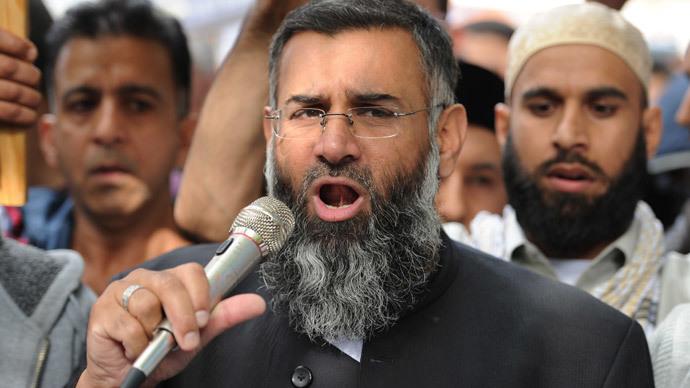 Muslim cleric Anjem Choudary.(AFP Photo / Leon Neal)