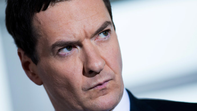 British Chancellor of the Exchequer George Osborne.(AFP Photo / Andrew Cowie)