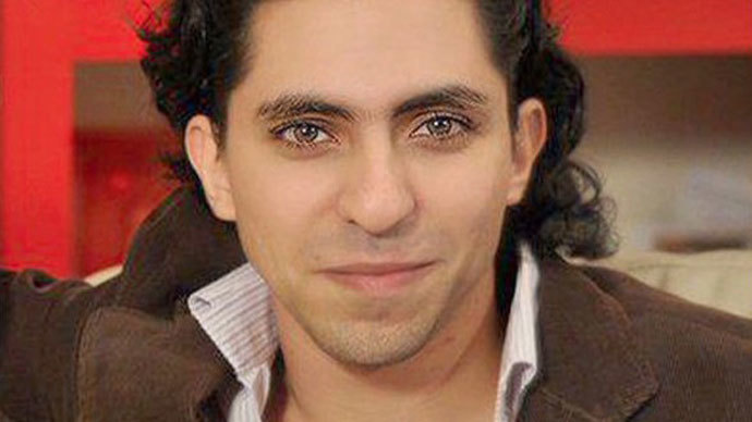 Saudi Arabia blogger flogged 50 times out of 1,000 for 'insulting Islam', to be continued weekly
