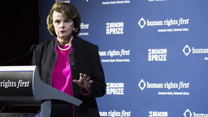 Dianne Feinstein.(AFP Photo / Drew Angerer)