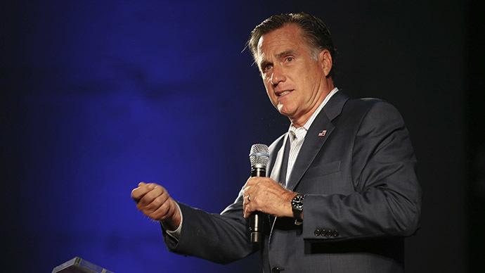 Former Massachusetts governor Mitt Romney. (Reuters/Chris Keane)