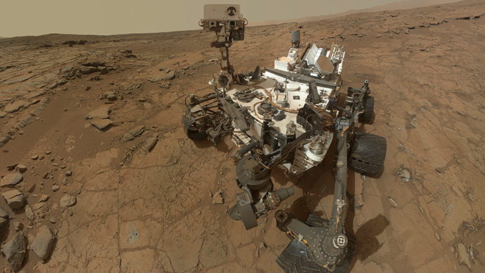 NASA's Mars Curiosity rover (Reuters / NASA)