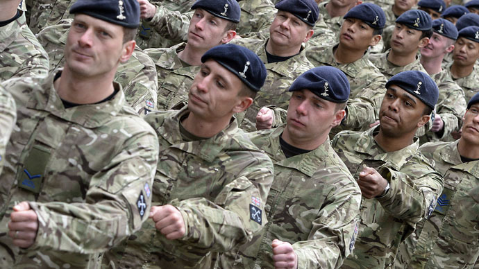 British Army recruits asked if they are gay