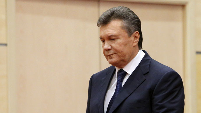 ​Interpol puts Ukraine's ousted president Yanukovich on wanted list