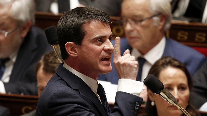 French Prime Minister Manuel Valls (Reuters/Charles Platiau)